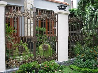 Mẫu hàng rào đẹp 3
