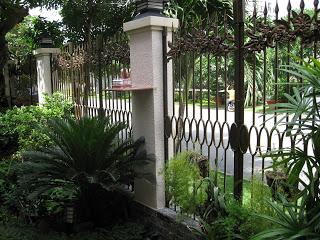 Mẫu hàng rào đẹp 2